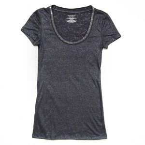 Never Worn: Gray Sparkly Tee by VICTORIA'S SECRET